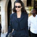 Kendall Jenner – Leaving the George V Hotel in Paris