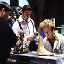 Michael G. Hagerty, Rupert Everett and Andy Dick in Disney's Inspector Gadget - 1999