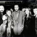 John Entwistle & Alison with Kenney Jones & Pete Townshend
