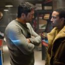 Gerard Butler (as Kable, left) and Chris 'Ludacris' Bridges (as Humanz Brother, right) star in GAMER. Photo credit: Saeed Adyani