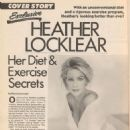 Heather Locklear - Diet & Exercise Magazine Pictorial [United States] (June 1991) - 454 x 614