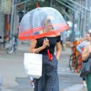 Famke Janssen – Out in New York