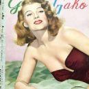 Rita Hayworth - Geino Gaho Magazine Pictorial [Japan] (April 1953) - 454 x 644