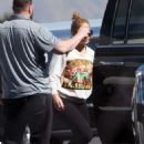 Jennifer Lopez in Tight Leggings – Out in Los Angeles