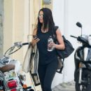 Adriana Lima – Arrives at a gym in Miami