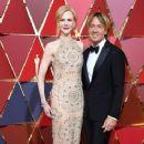 Keith Urban and Nicole Kidman At The 89th Annual Academy Awards - Arrivals (2017) - 366 x 600