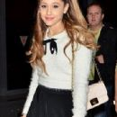 Ariana Grande arrives in Japan on Tuesday December 31, 2013