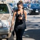 Brenda Song leaving a gym in West Hollywood, California on January 25, 2014 - 419 x 594