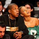 Jay-Z and Beyonce had their sights set on an NBA All-Star game in Atlanta. FEBRUARY 9, 2003