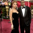 The Dreamgirls star and her supporting man walked the red carpet at the Academy Awards. FEBRUARY 27, 2005