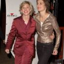 Ellen DeGeneres and Alexandra Hedison