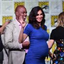 Actress Daniela Ruah attends CBS Television Studios Block including