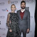 Emily Blunt and John Krasinski : The BAFTA Los Angeles Tea Party