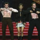 Hugh Jackman, Halle Berry and John Travolta - 2001 MTV Movie Awards - 454 x 365