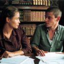 Gaspard Ulliel and Emmanuelle Beart