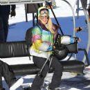 Paris Hilton and Sofia Richie – Hitting the slopes in Aspen