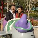 Tim Tebow And Fiancè Demi-Leigh Nel-Peters Celebrate At Walt Disney World - 390 x 600