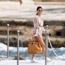 Kendall Jenner spotted leaving the Hotel du Cap-Eden-Roc in Cannes