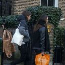 Keira Knightley and James Righton Out Shopping in London