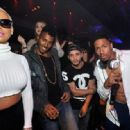 Amber Rose Hosting at 1 Oak Nightclub in Las Vegas, Nevada - January 6, 2015 - 454 x 317