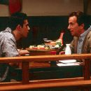 Freddie Prinze, Jr. as Al Connelly and Henry Winkler as Chef Ray in Miramax's Down To You - 1/2000
