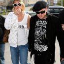 Benji Madden and Paris Hilton