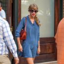 Taylor Swift was seen leaving her hotel in New York City this morning, August 31