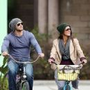 Sharni Vinson: went for a bike ride around Los Angeles