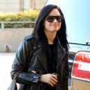 Demi Lovato - Departing LAX Airport, 2010-01-23