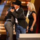 George Strait and Norma Voss - 400 x 594