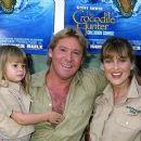 Steve Irwin and Terri Irwin