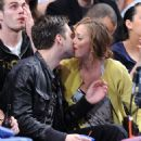 Leighton Meester - NY Nicks Game, 2009-03-07