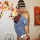 Pamela Anderson - Art Basel Miami Beach, 05.12.2008.