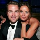 Gabrielle Anwar and Chris O'Donnell