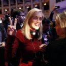 Sharon Stone attending the opening ceremony of the World Summit Of Nobel Peace laureates