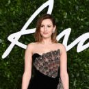 Laura Carmichael – British Fashion Awards 2019 in London - 454 x 661