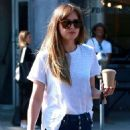 Dakota Johnson – Shopping in West Hollywood