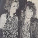 Cindy Crawford and Jon Bon Jovi