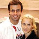Henri Castelli and Carolina Dieckmann