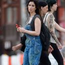 Sarah Silverman Out and About In New York City