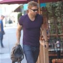 Kellan Lutz going to the doctor's office in Beverly Hills, CA (August 13)