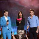 Zachary Quinto, Zoe Saldana and Chris Pine - 2013 MTV Movie Awards - Show