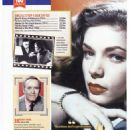 Lauren Bacall - 100 Greatest Movie Icons Magazine Pictorial [United Kingdom] (29 September 2019) - 454 x 642