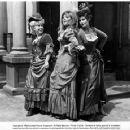 "Edina Ronay as Mary Jane Kelly, Barbara Windsor as Dark Annie Champan and Norma Foster as Elizabeth ""Long Liz"" Stride in A Study in Terror (1965)"