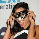 Rosario Dawson Unicefs Next Generations 2nd Annual Masquerade Ball In La