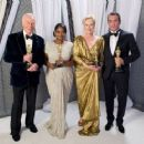Christopher Plummer, Octavia Spencer, Meryl Streep and Jean DuJardin At The 84th Annual Academy Awards - Portraits (2012) - 454 x 363