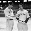 Bobby Doerr With Ted Williams