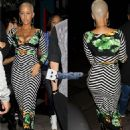 Amber Rose attends Carmen Electra's Birthday Party at Hooray Henry's in West Hollywood, California - April 24, 2014 - 454 x 539