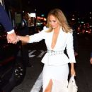Jennifer Lopez – Arrives to Ultra Beauty for a perfume launch party in NY