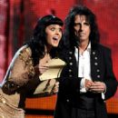 Katy Perry and Alice Cooper At The 52nd Annual Grammy Awards (2010)